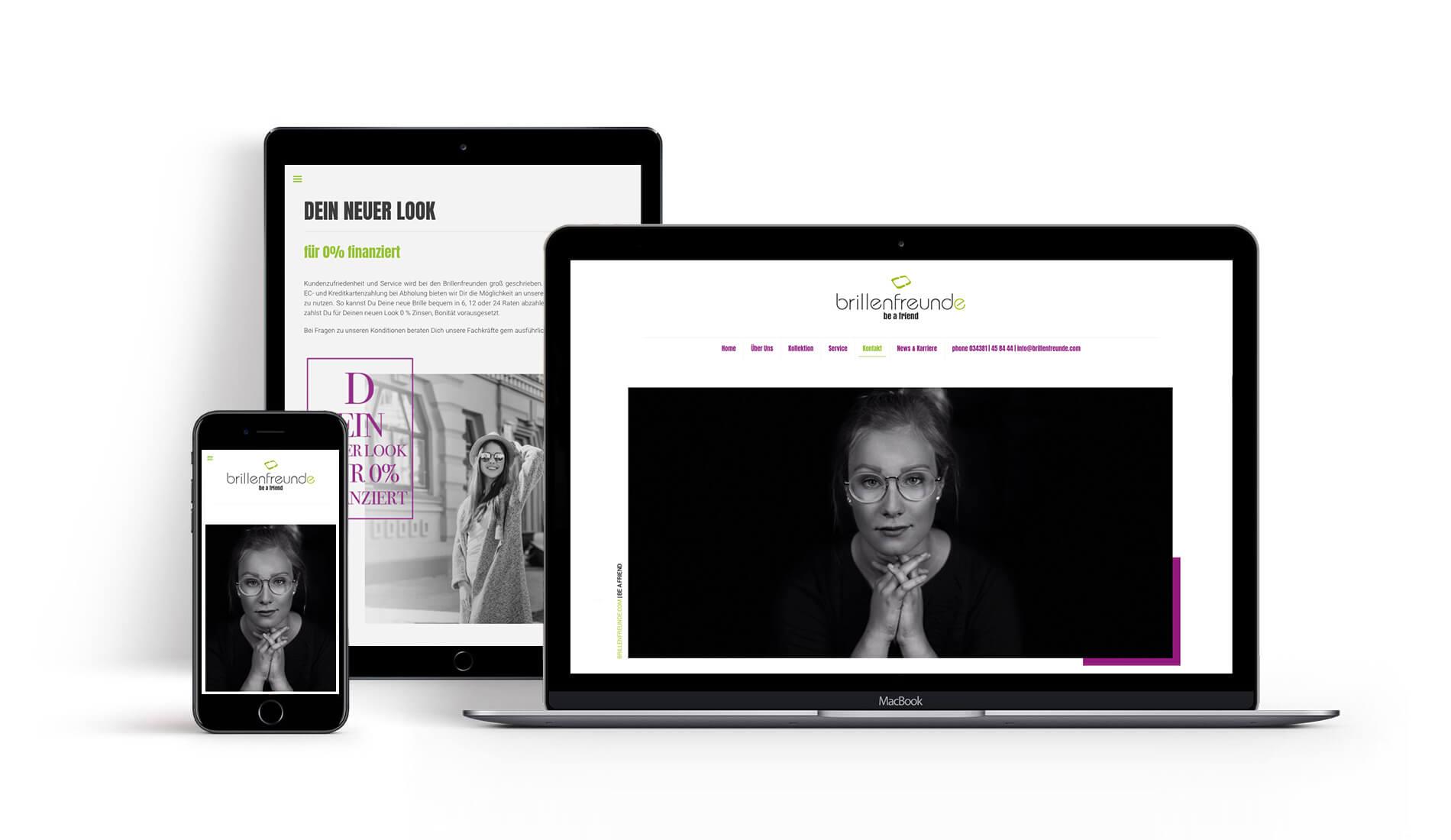 Webdesign Chemnitz & Brillenfreunde